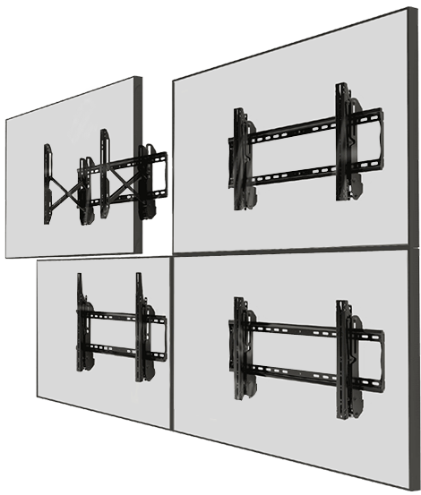 Eflyn Video Wall Mounts 2x2