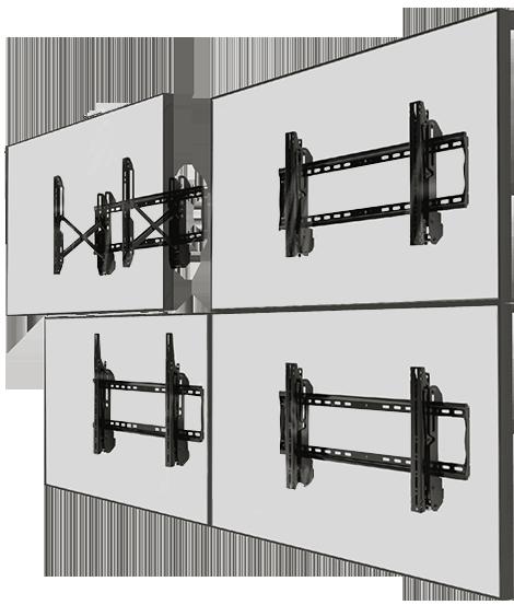Eflyn Video Wall Mounts 2x2