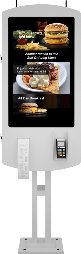 Restaurant Self Ordering Kiosk Software App and Payment Solution - Eflyn
