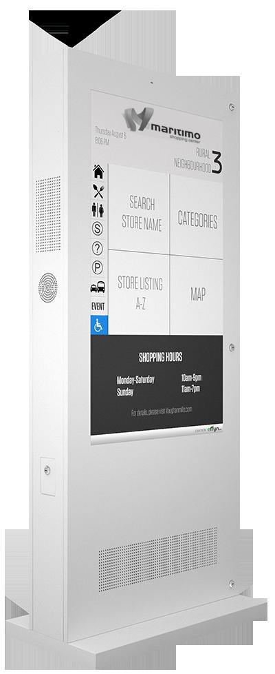 Eflyn Outdoor Digital Display Touch Screen Kiosk Image