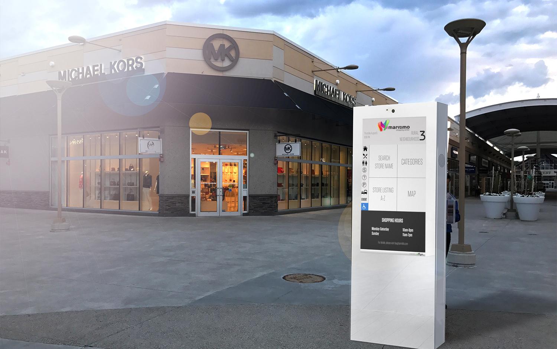 touch screen outdoor digital display kiosks eflyn. Black Bedroom Furniture Sets. Home Design Ideas
