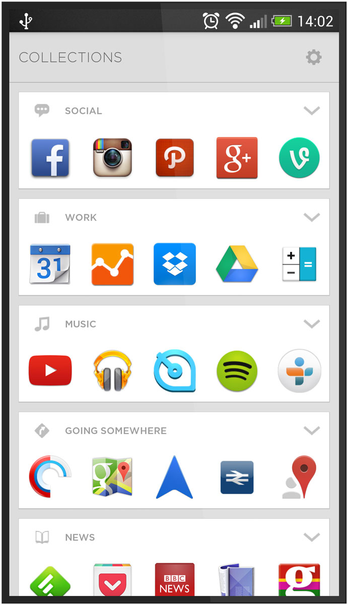Applications Screenshot