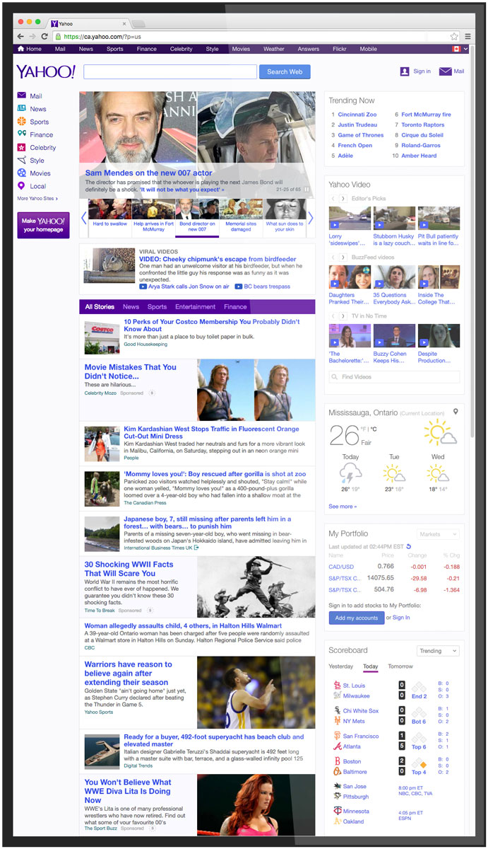 Web Browsing Screenshot