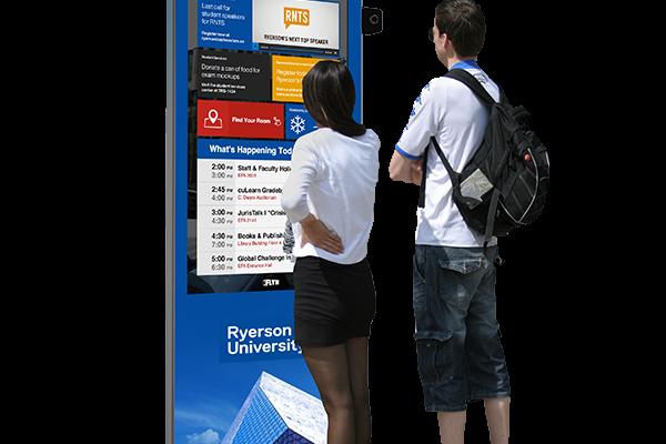 Ryerson University Wayfinding Kiosks