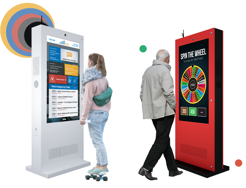 Touch Screen Outdoor Digital Display Kiosks - Eflyn