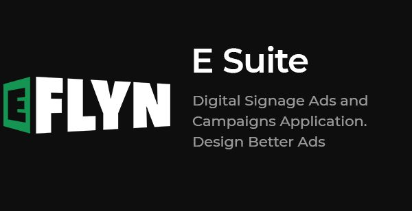 ESuite CMS for Interactive Digital Signage