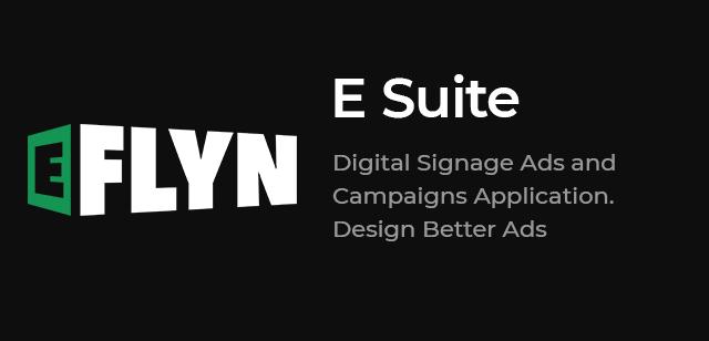 ESuite CMS for Interactive Digital Signage