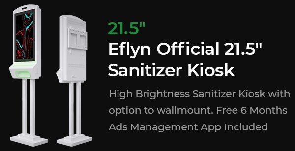 The Official Sanitizer Kiosk
