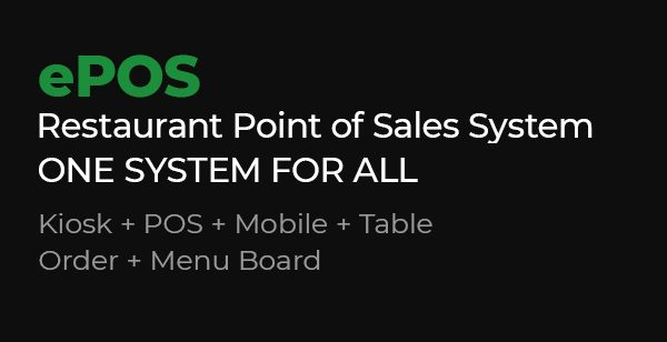 Restaurant Point of Sales System