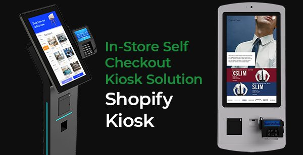 "Eflyn 32"" Self Order Kiosk for Shopify In Person Shopping"