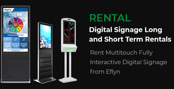 Digital Signage Rental
