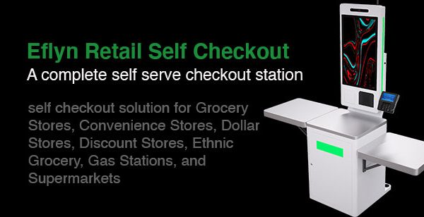 Eflyn Retail Self Checkout Station